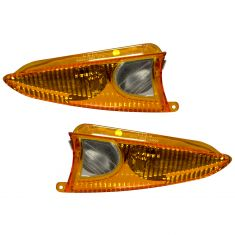 03-06 Expedition, Navigator Mirror Mtd Turn Signl/Puddle Light Amber Lens w/Hsg PAIR (Ford)