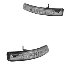 11-15 Ford Explorer Mirror Mounted Turn Signal Light Lens & Housing Assy PAIR (Ford)