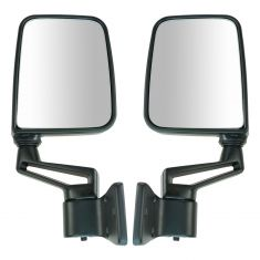 1987-02 Jeep Wrangler folding Manual Mirror Pair