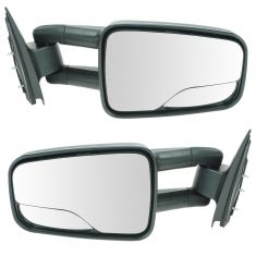 1999-04 Silverado Sierra Manual Mirror Pair