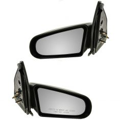 Saturn 4 door Manual Mirror Pair