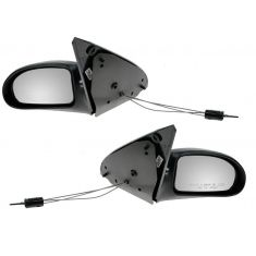 2000-02 Ford Focus Fixed Manual Mirror Pair