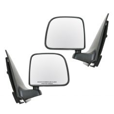 1993-97 Ford Ranger Manual Mirror Black Pair