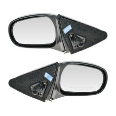 1996-00 Honda Civic 2dr Manual Mirror Pair