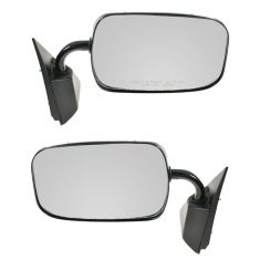 1988-00 GM Truck Man Pedistal Mirror Pair Black