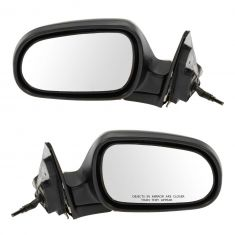 1990-93 Honda Accord 4dr Man Mirror Pair