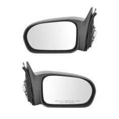 2001-05 Honda Civic Mirror Power Non Folding Pair For US Built Sedan Models