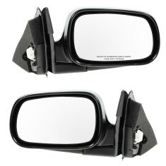 1994-97 Honda Accord Mirror Power Black Pair
