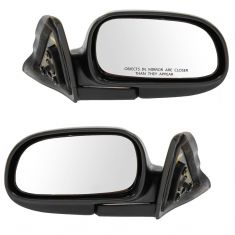 93-97 Corolla Manual Mirror Pair