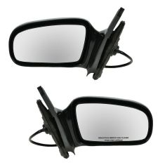 96-05 Chevy Cavalier, Pontiac Sunfire Coupe Power Mirror PAIR