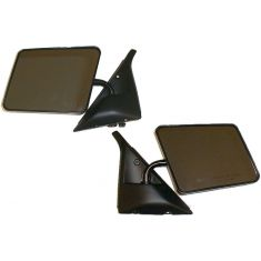 82-94 S10 Manual Mirror Blk Pair
