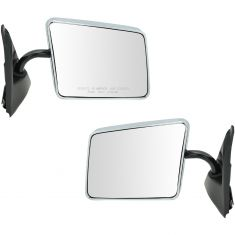 82-94 S10 Manual Mirror Chr Pair