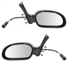 02-06 Ford Taurus w/Pud Lmp Fixed Pwr Htd Mirror Pair
