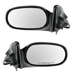 98-02 Toyota Corolla Power Non Fld Mirror Pair