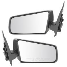 85-94 S10 Manual Mirror Blk Pair