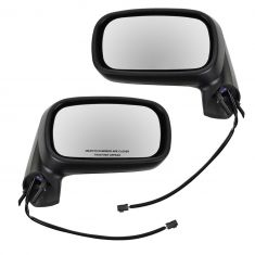 92-99 Pontiac Bonneville Power Mirror Blk Pair