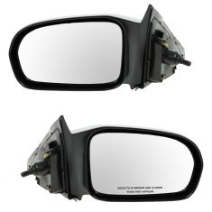 01-03 Civic 2dr Manual Mirror Pair