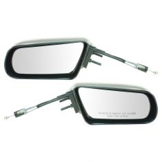 87-96 Corsica Manual Remote Mirror Pair