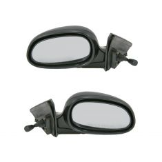 92-95 Civic 4dr Manual Mirror Pair