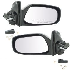 88-92 Corolla Manual Remote Mirror Pair