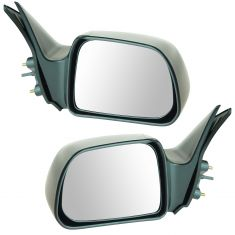 00-04 Toyota Tacoma Manual Remote Non Folding Mirror Pair