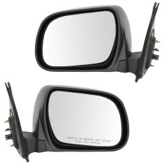 2005-11 Toyota Tacoma Manual Mirror Pair
