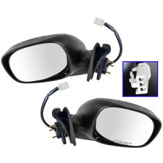 2000-06 Toyota Tundra Power Mirror with Chrome Pair