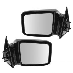 1987-96 Dodge Dakota Mirror Manual Pair