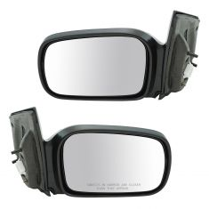 2006-11 Honda Civic Mirror Manual Pair for Coupe Model