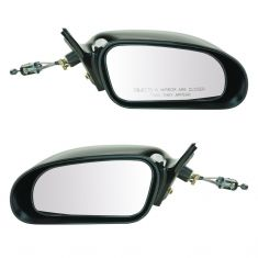 95-00 Chrysler Sebring Coupe, Dodge Avenger Cable Rem Non Fldg Mirror PAIR