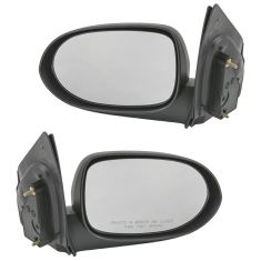 07-08 Dodge Caliber Mirror Manual Pair (Except SRT4)