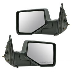 06-08 Ford Ranger Mirror Manual Folding Textured Pair
