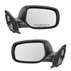 06-11 Toyota Yaris Mirror Hatchback Manual Folding Pair