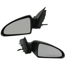 06-07 Chevy Malibu Mirror Power Folding Smooth (Except LS)Pair