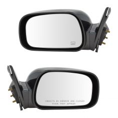 02-06 Toyota Camry Mirror Power Heated (Japan Built) Pair