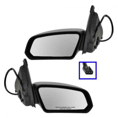 How To Install Replace Broken Side Rear View Mirror Saturn