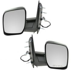 09-11 Ford Van Pwr Mirror w/Single Glass PAIR