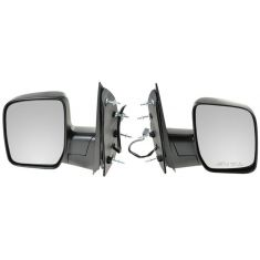 2009-11 Ford Van Pwr Mirror w/Single Glass PAIR