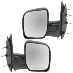 08-11 Ford Van Manual Mirror w/Single Glass PAIR