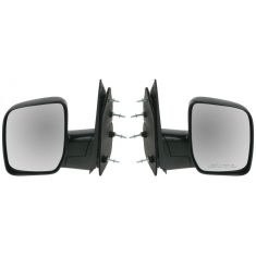 2008-11 Ford Van Manual Mirror w/Single Glass PAIR