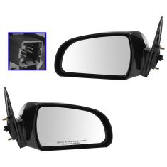 06-10 Hyundai Sonata Power Heated Mirror PAIR