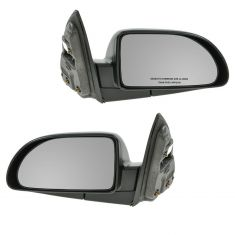 02-06 Saturn Vue Manual Mirror PAIR