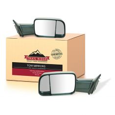 09-12 Dodge Ram 1500 (exc Mega Cab); 10-12 Dodge 2500 3500 Manual Textured Mirror PAIR (UPGRADE)(TR)