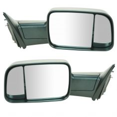 09-12 Dodge Ram 1500 (exc Mega Cab); 10-12 Dodge 2500 3500 Manual Textured Mirror PAIR (UPGRADE)