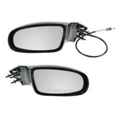 1995-96 Chevy Caprice, Impala, Buick Roadmaster Manual Mirror PAIR