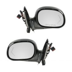 1998-04 Ford F150 Heritage (exc Crew Cab); 98 F250 Power w/1 Arrow Signal BLK Cap Mirror PAIR