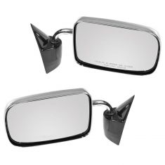 1987-94 Dodge Dakota PU, 6x9, chrome (folding) Manual Mirror PAIR