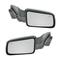 2008-11 Ford Focus Power Heated w/Chrome Cover Mirror PAIR