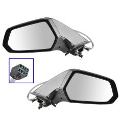 10-11 Chevy Camaro (w/Lite Sensistivity) Power Heated PTM Mirror PAIR