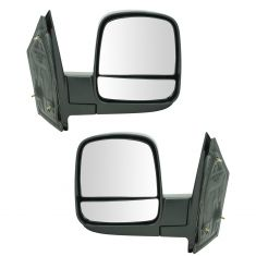 08-11 Chevy Express, GMC Savana Van Manual Mirror Pair